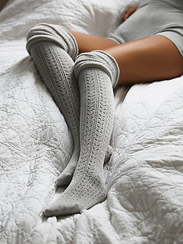 cozy socks for a lazy sunday morning