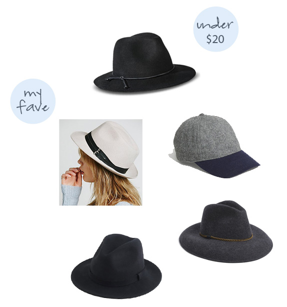 wool hats for fall and winter