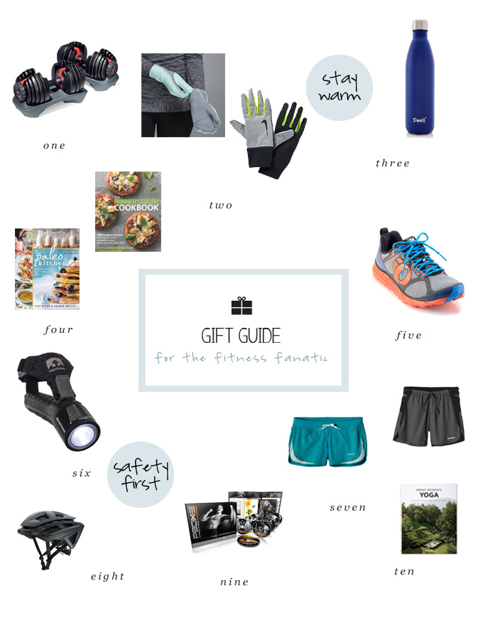 holiday gift ideas for the fitness fanatic