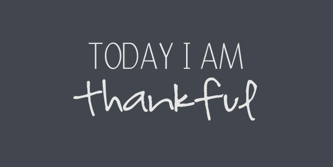 today i am thankful for thanksgiving with friends and family