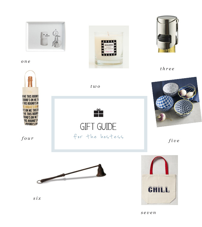 holiday gift ideas for the host and hostess