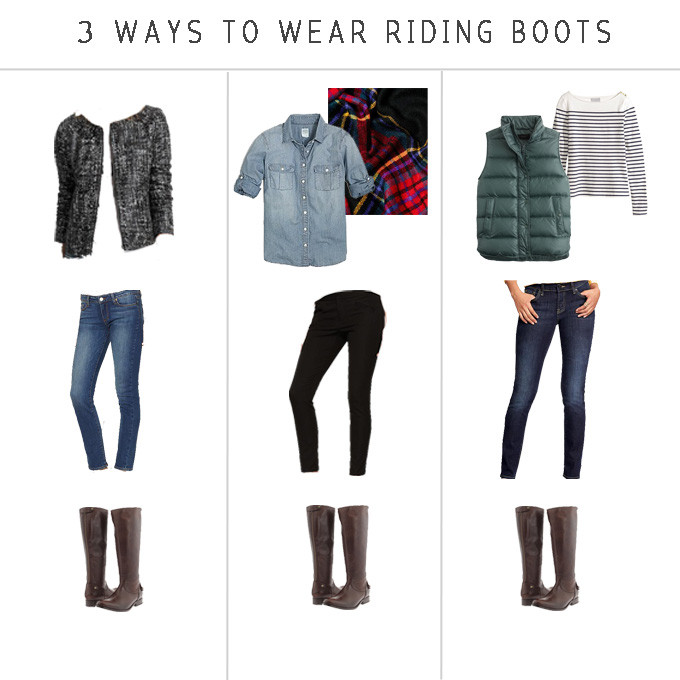 3 Ways to Wear Riding Boots