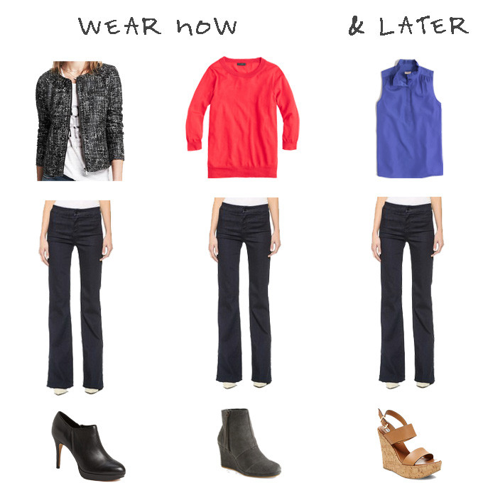 how to wear trouser jeans