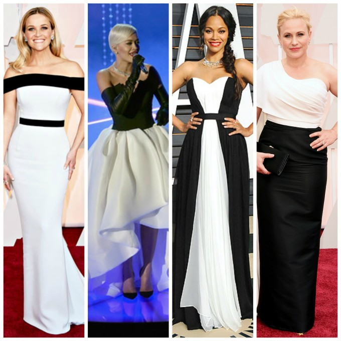 2015 oscar trends: black and white