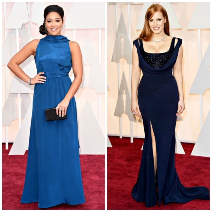 2015 oscar trends: shades of blue