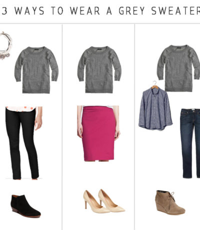 3 ways to wear the j crew tippy sweater
