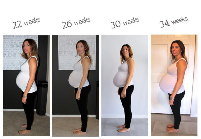Little Luv Update: Pregnancy at 34 Weeks | Luv in the BubbleLuv in the ...