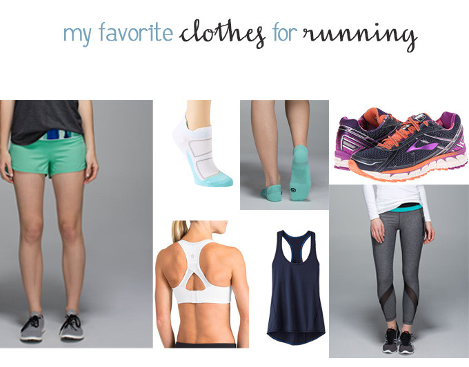 favorite clothes for running