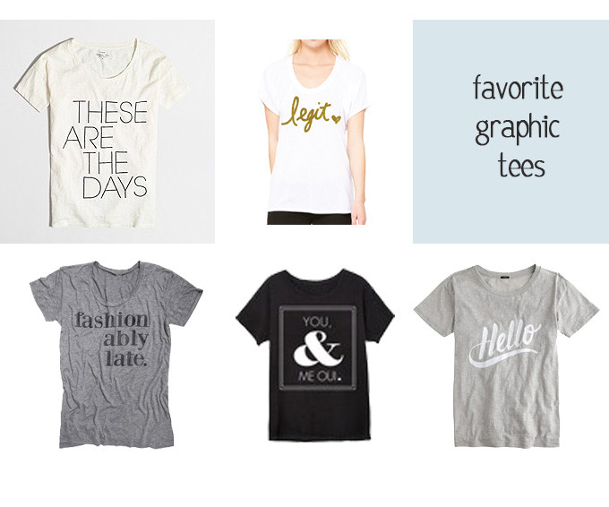 Favorite Graphic Tees