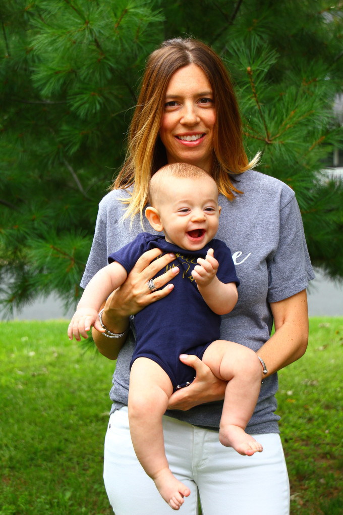 J'Adore Tee by Olive Lane | Mom Style