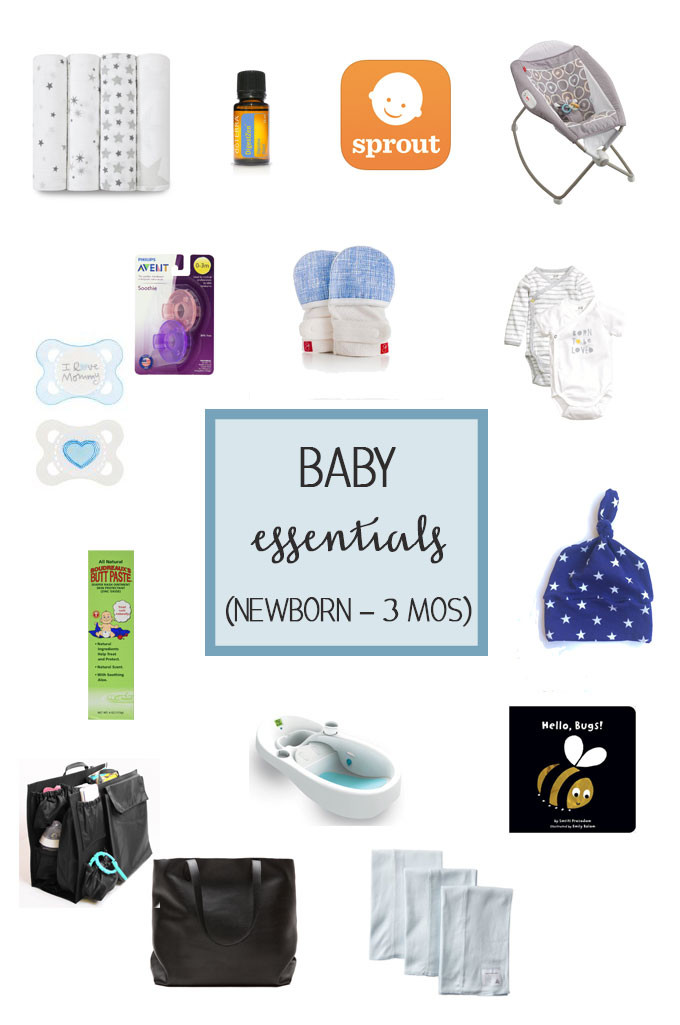 Baby Essentials: Newborn to 3 Months