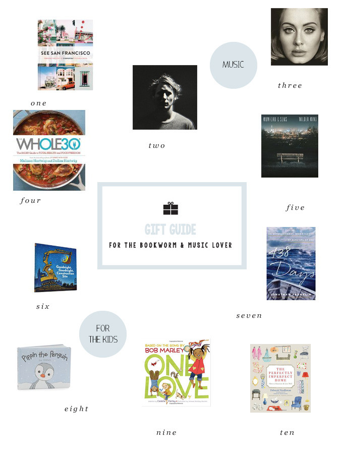 Gift Ideas for the Books & Music