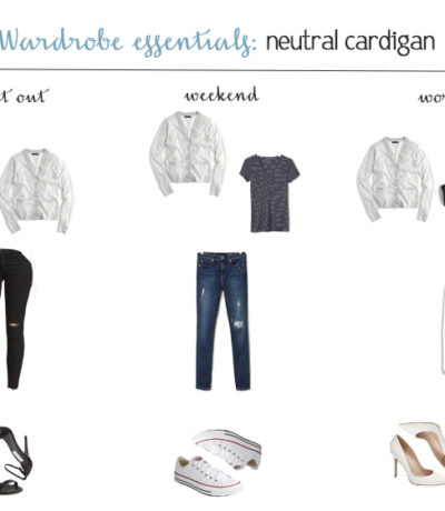 Wardrobe Essentials: The Neutral Cardigan