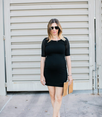 Black Dress, Pregnancy Style