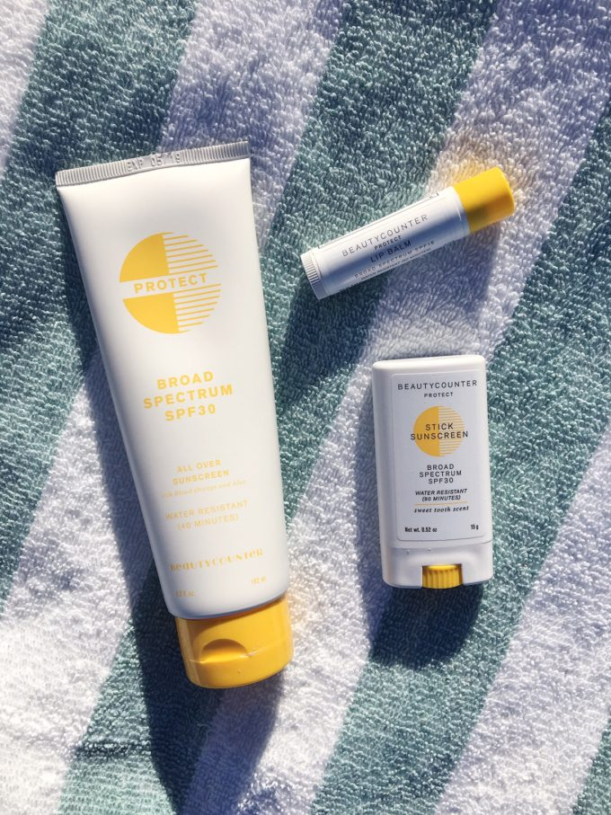 A Day at the Beach with Beautycounter Sunscreen