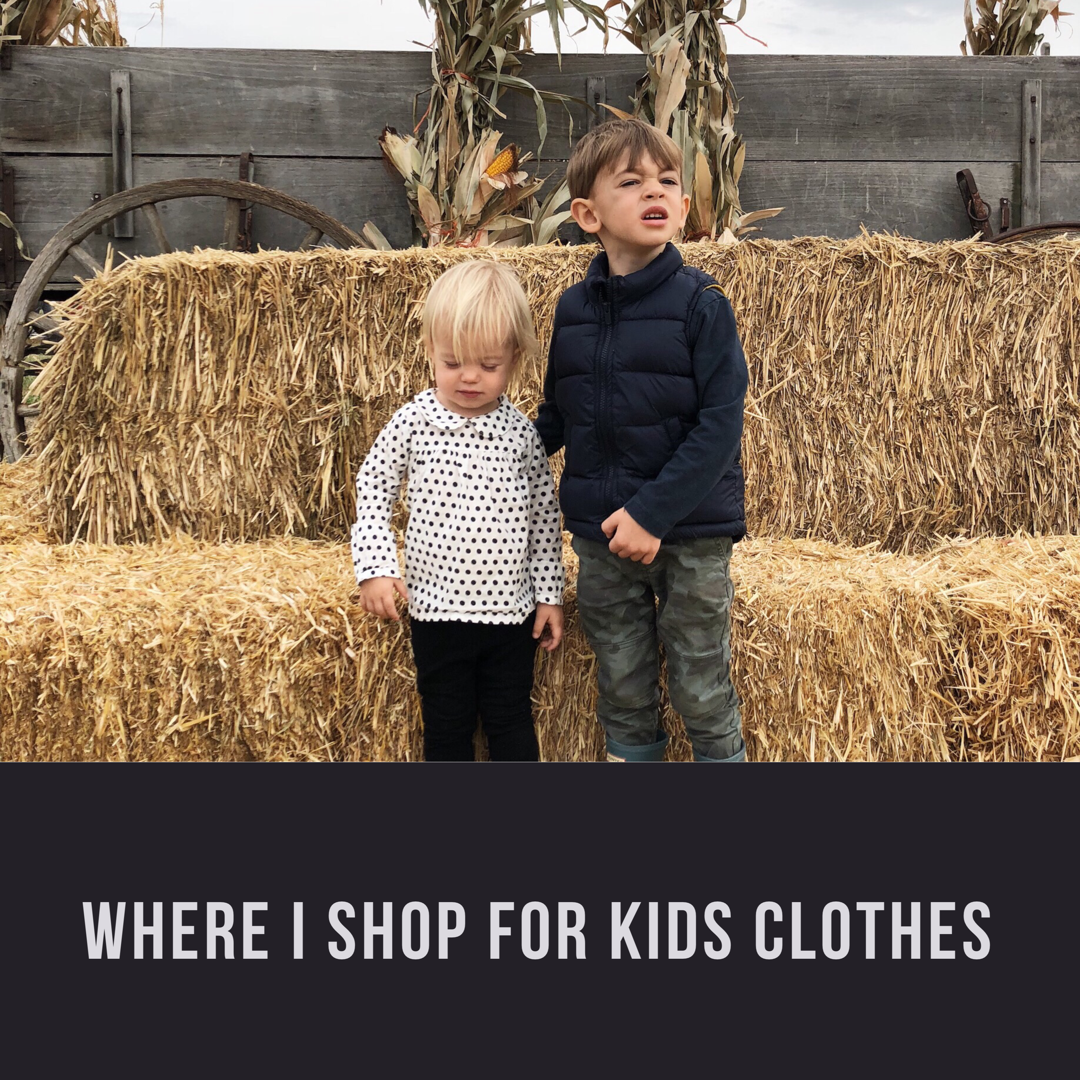 Where to Shop for Kids Clothes