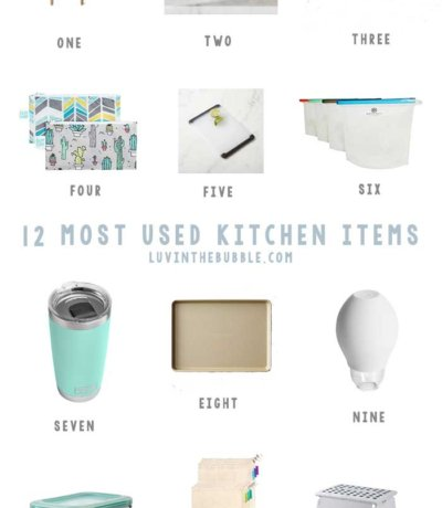 Most Used Kitchen Items