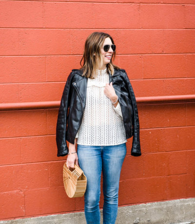 Madewell Eyelet Top
