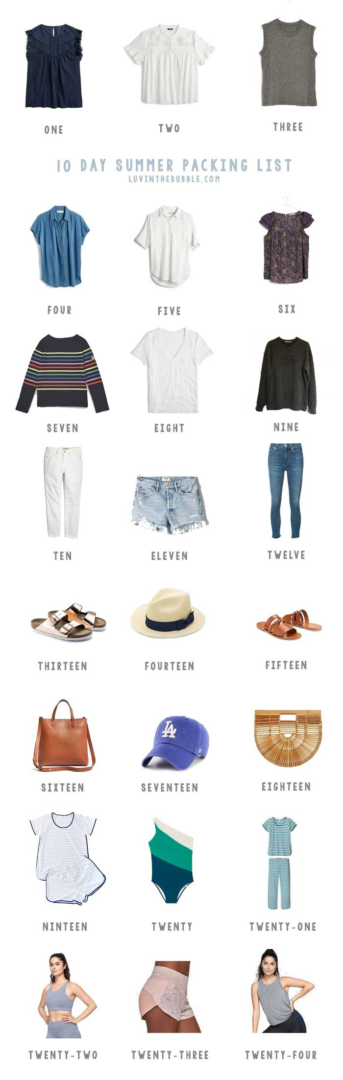 10-Day-Packing-List