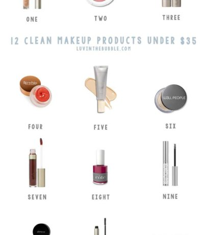 Clean Makeup Products Under $35