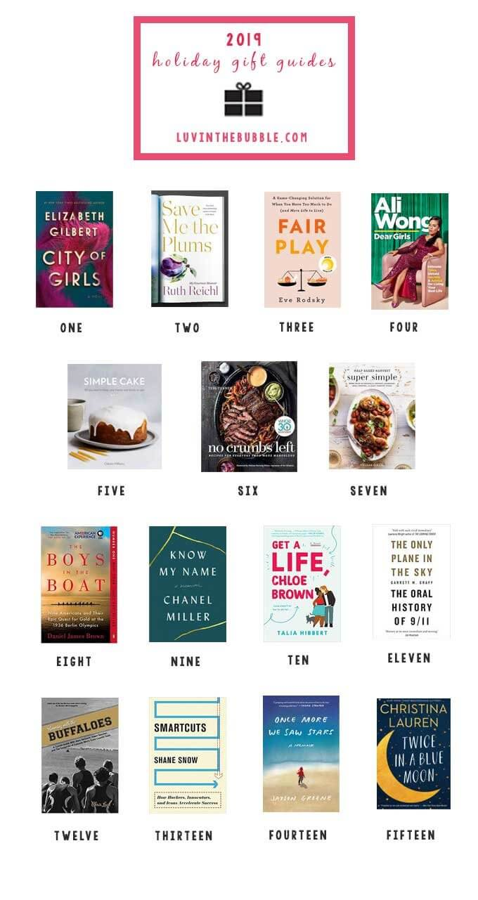 2019 Holiday Gift Guides: Books