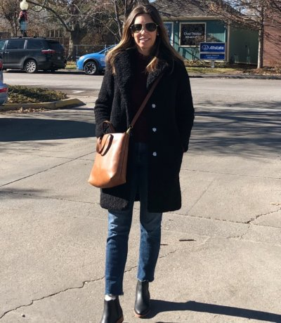 J Crew Teddy Coat