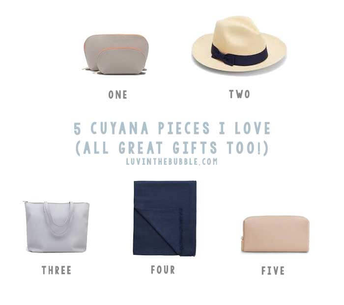 Cuyana Pieces I Love and Recommend