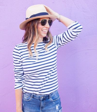 Saint James Striped Shirt