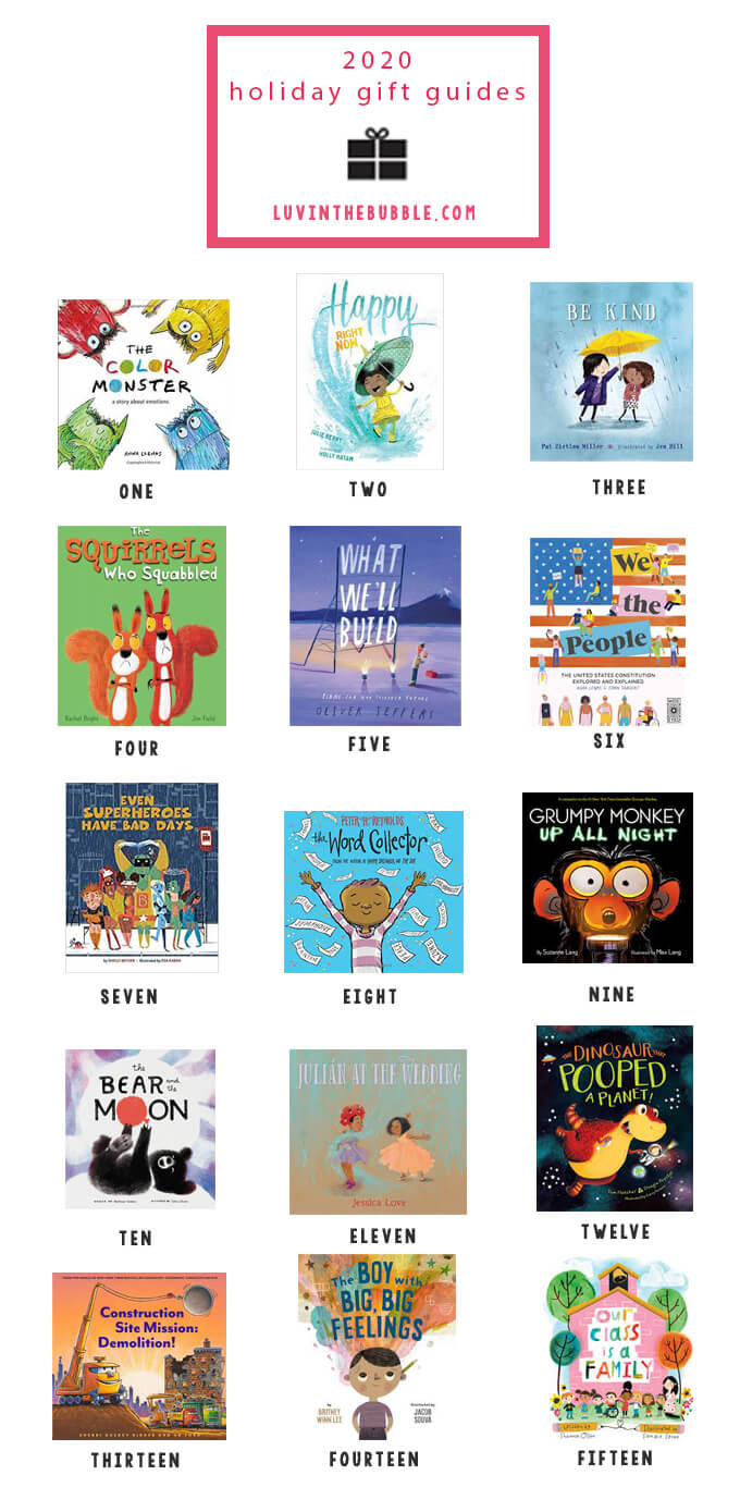 2020 Gift Guide Books for Kids