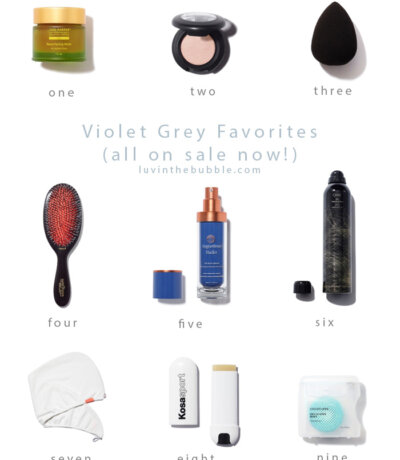Violet Grey Beauty Favorites on Sale