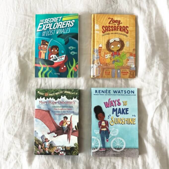 Favorite Chapter Books for Elementary Age Kids